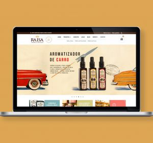 <span>E-Commerce Raisa Cosmética Artesanal</span><i>→</i>